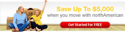 Save $5000 when you move with northAmerican